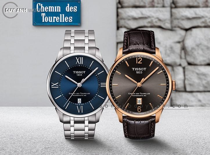 [Review - Đánh Giá] Tissot Chemin des Tourelles Blue and Café Edition 2018 – Sắc thái mới